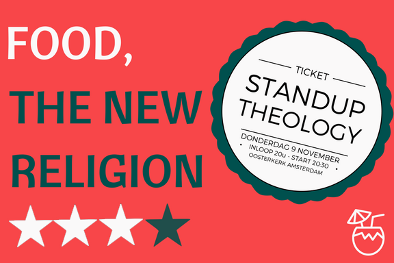 standup theology food